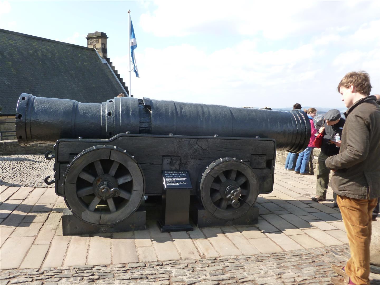 Richtig, richtig dicke Kanonen!