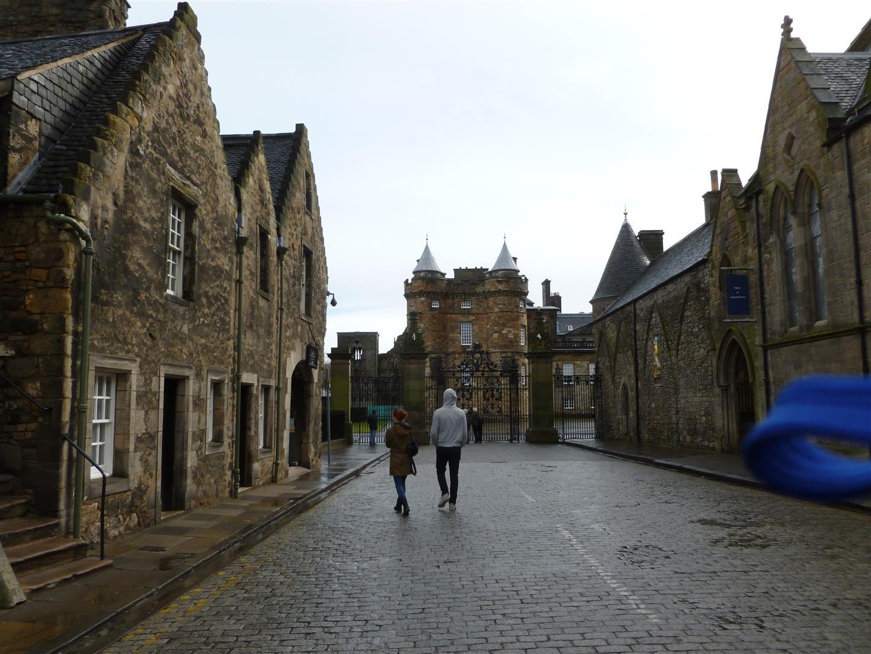 Unterkunft der Queen, falls sie nach Edinburgh kommt.