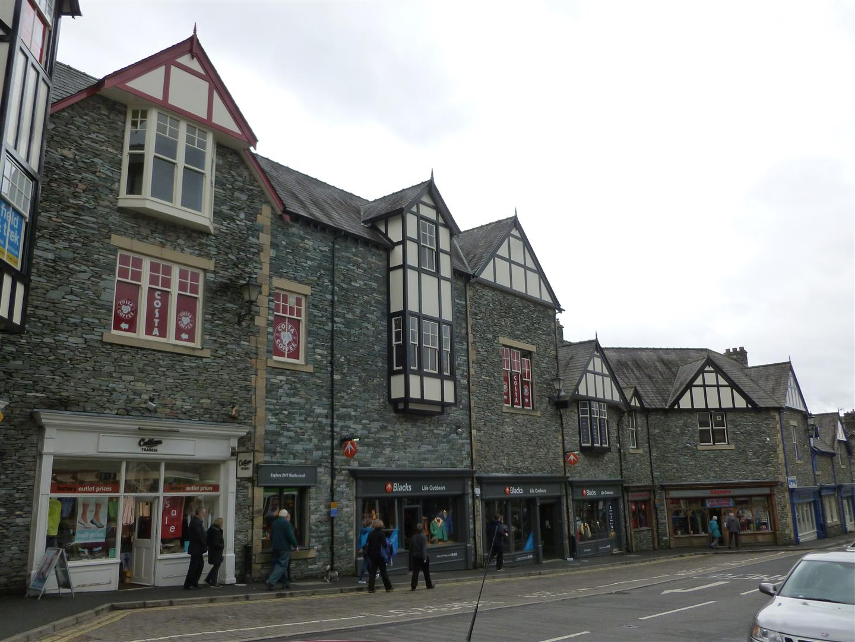 Eine kleine Stadt im Lake District