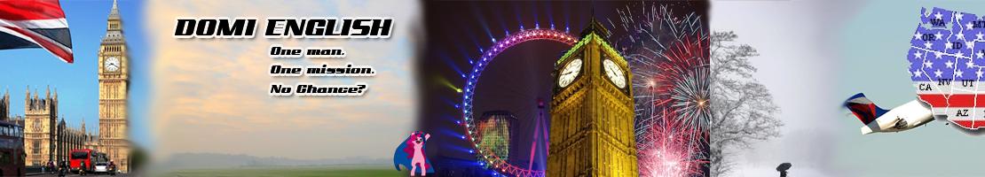 Das ursprüngliche Banner für meinen Blog sollte die Zeit veranschaulichen, die ich in England verbringe.