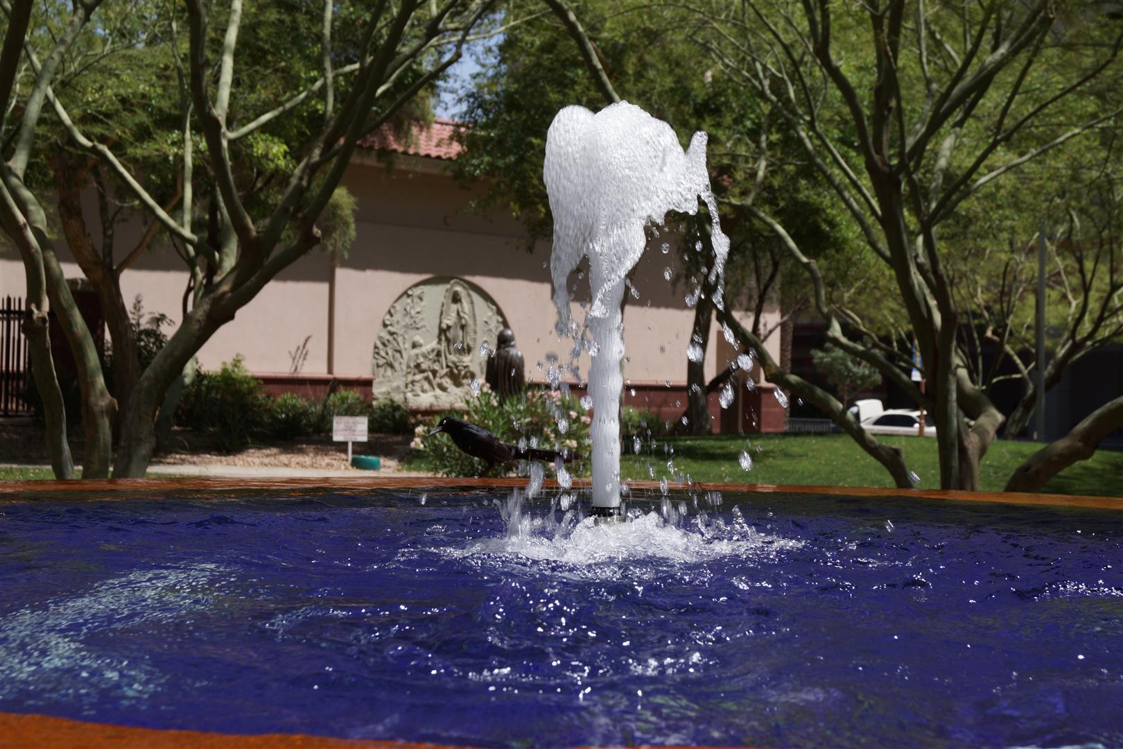 Der erfrischende Brunnen - nicht nur für uns, sondern auch für andere.