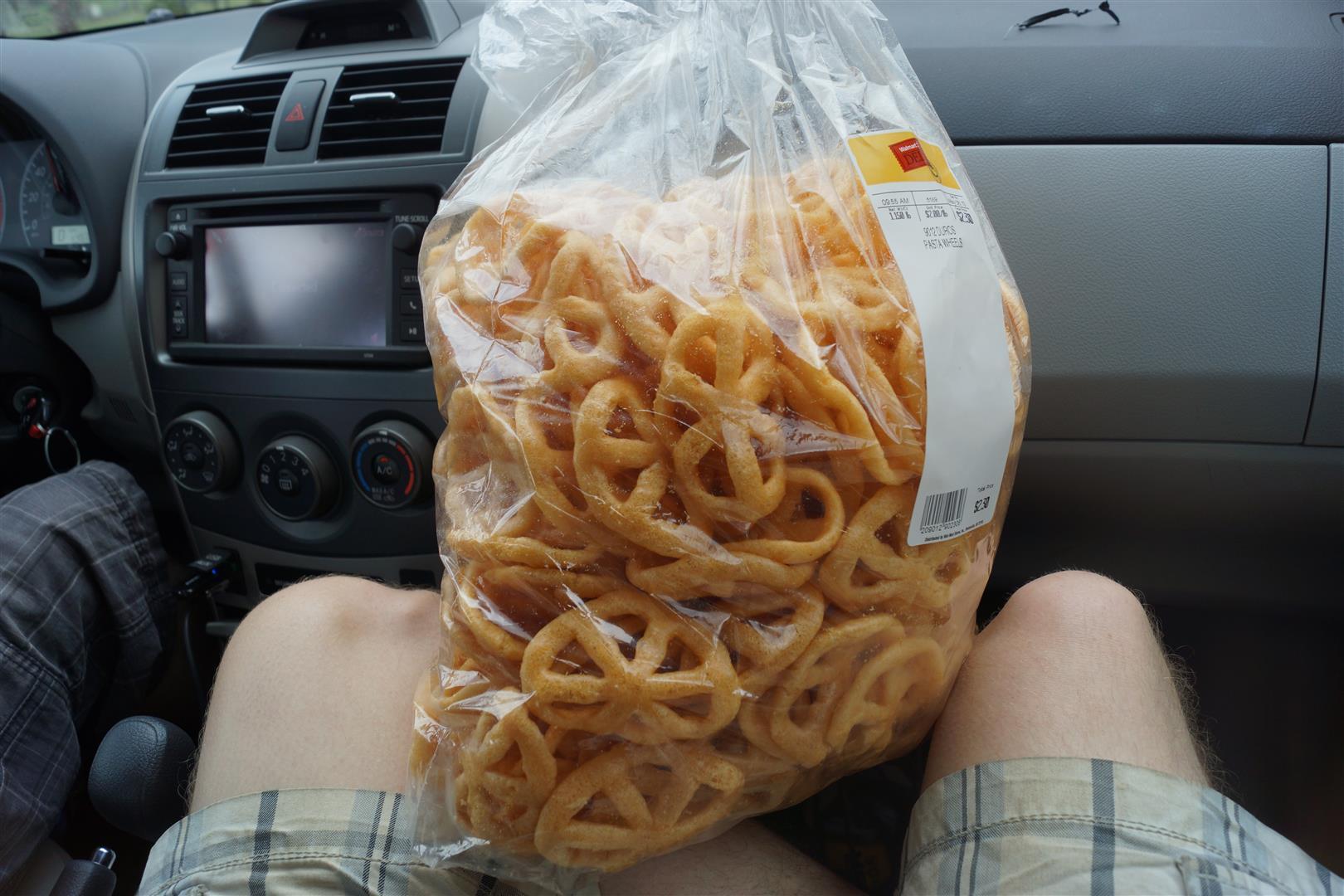Die Pasta-Wheels des Grauens!