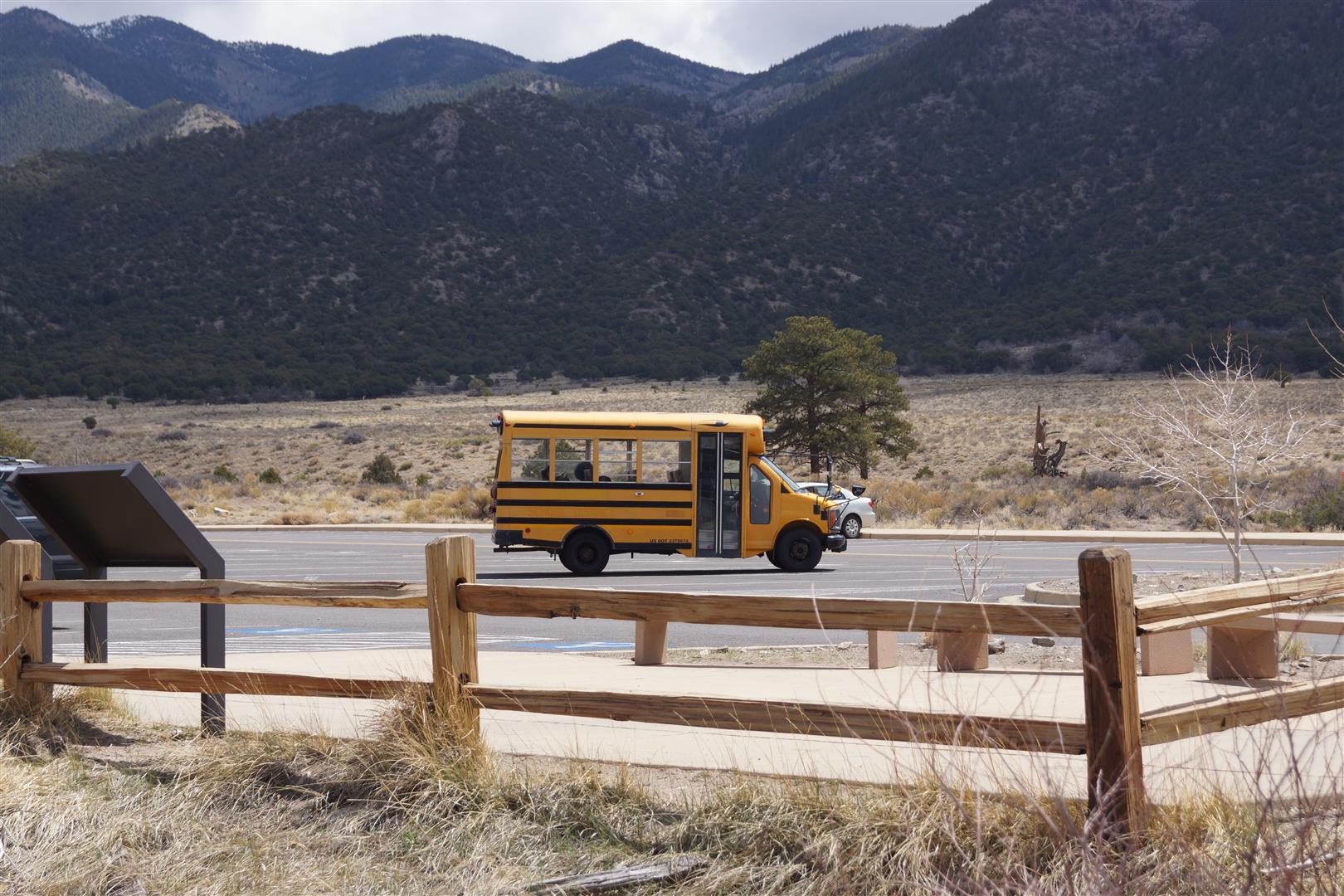 (Mini)Schulbus. Die sind einfach überall...