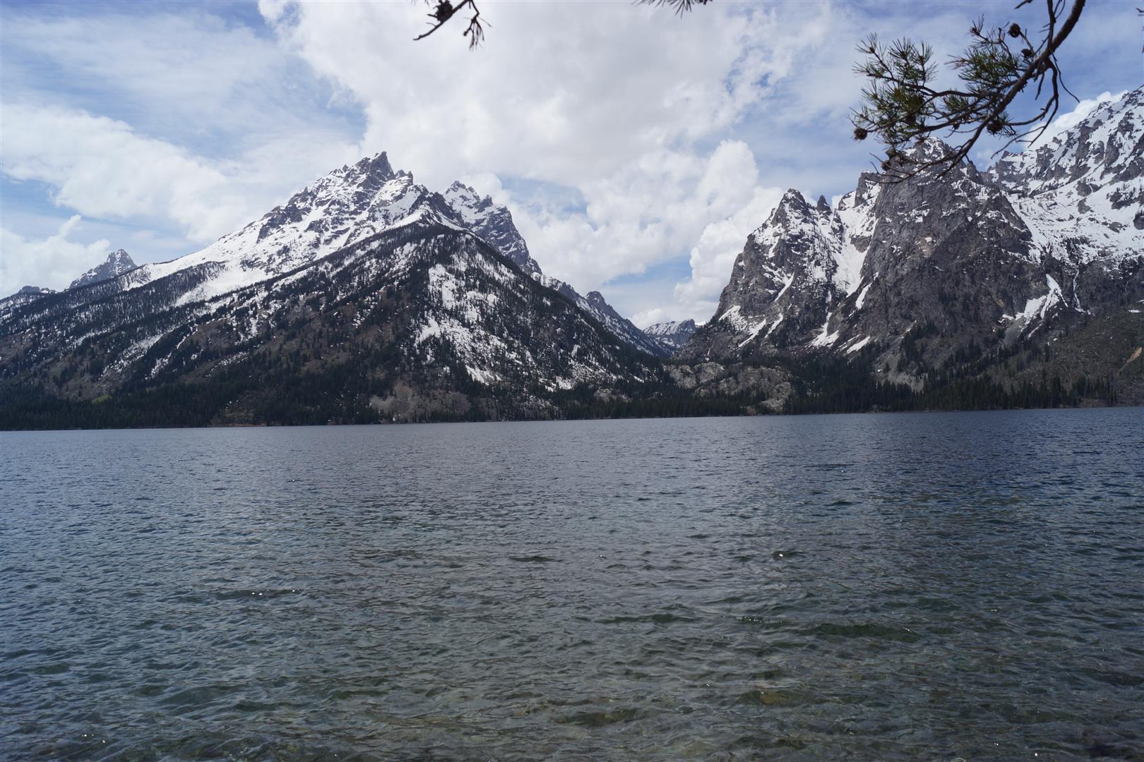 Unter anderem der Jenny Lake ;)