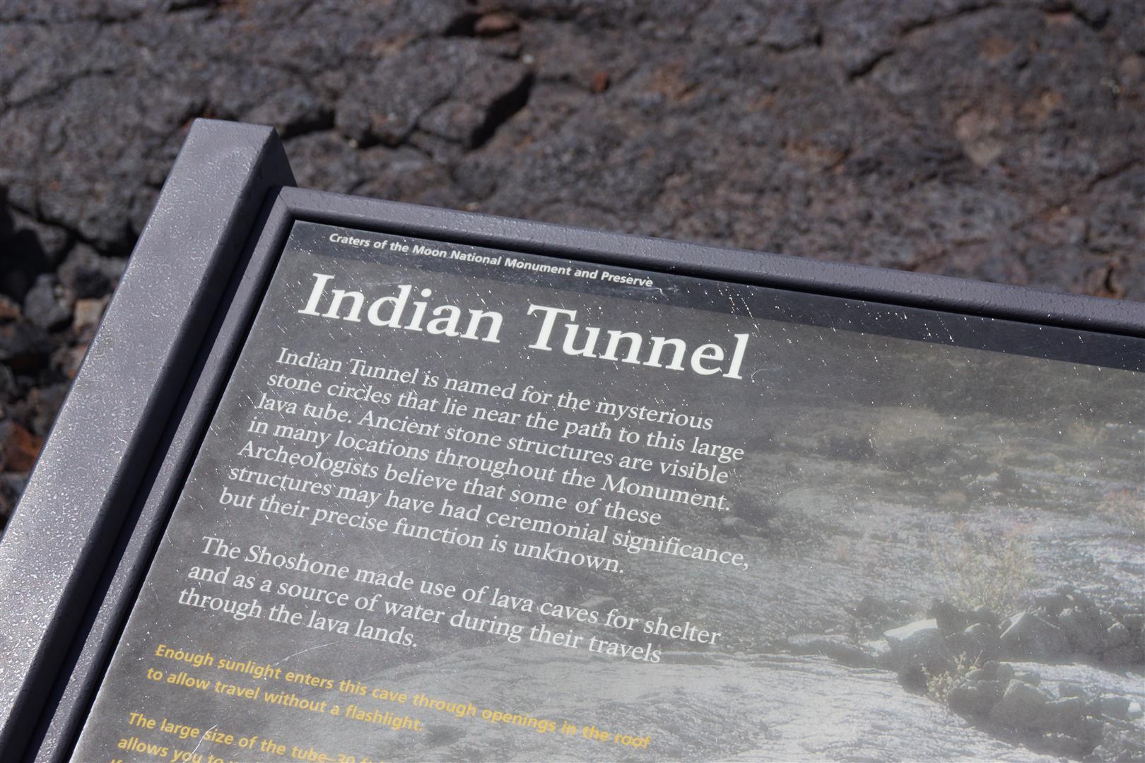 Ab durch den Indian Tunnel!