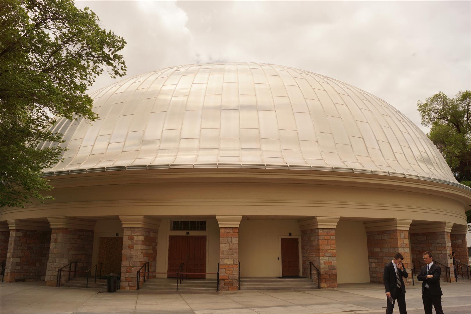 Sitz des Tabernakel Chors.