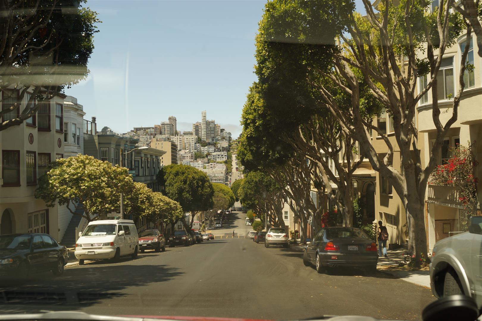 San Francisco - ein Auf und Ab!