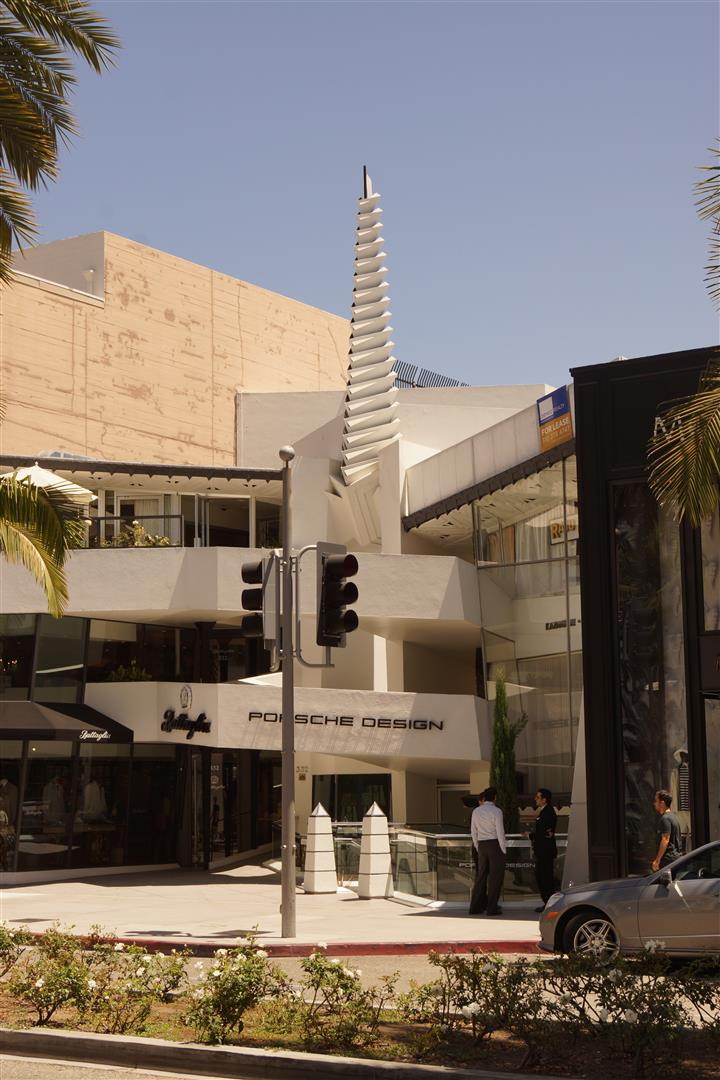 Darf in der Einkaufsstraße von Beverly Hills natürlich nicht fehlen!