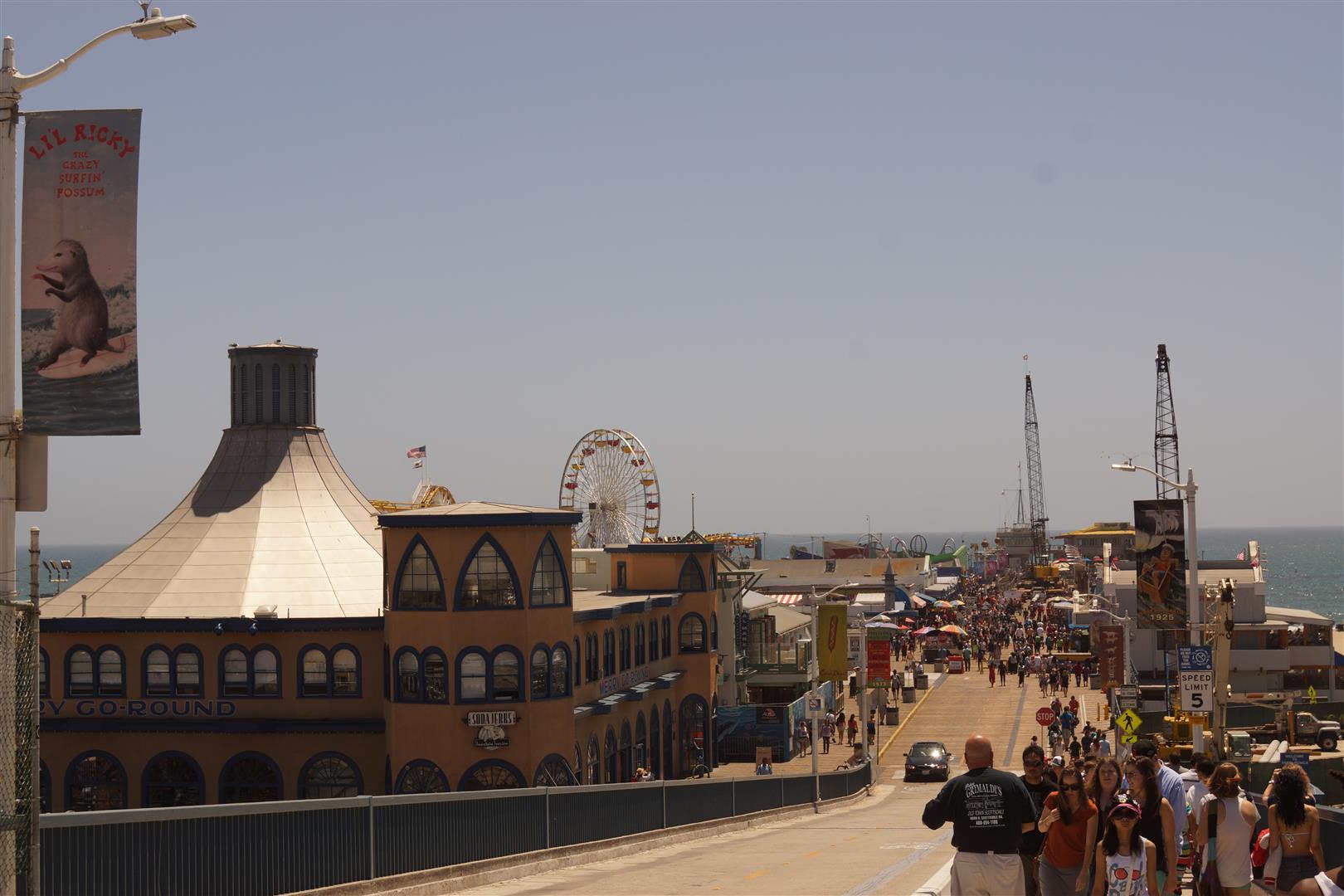 Das Santa Monica Pier.