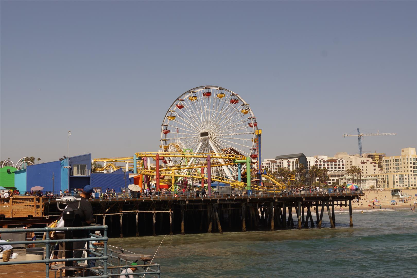 Ohne Riesenrad auf dem Pier können die Amis nicht...