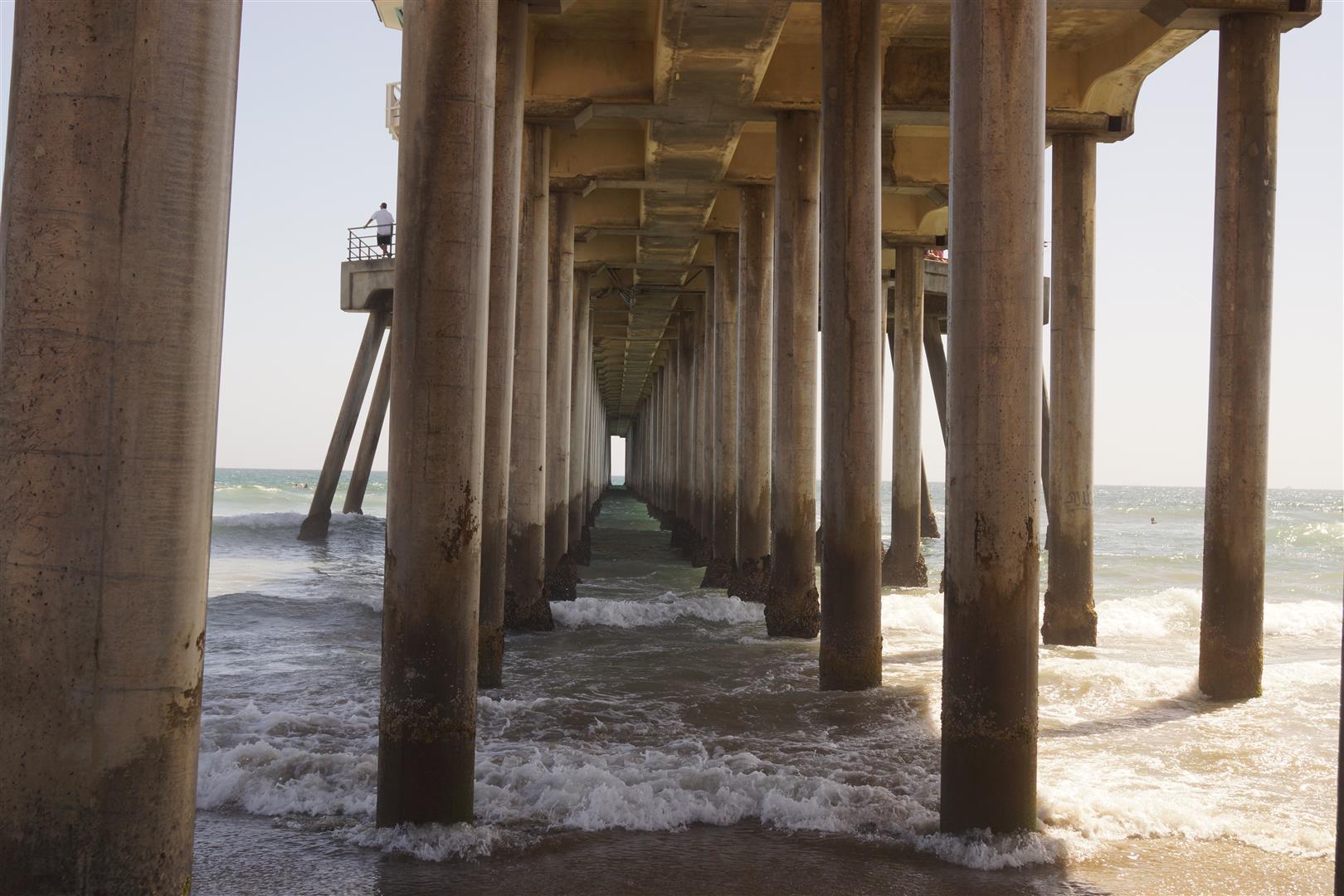 Zum Abschluss noch ne Aufnahme des Piers am Huntington Beach.