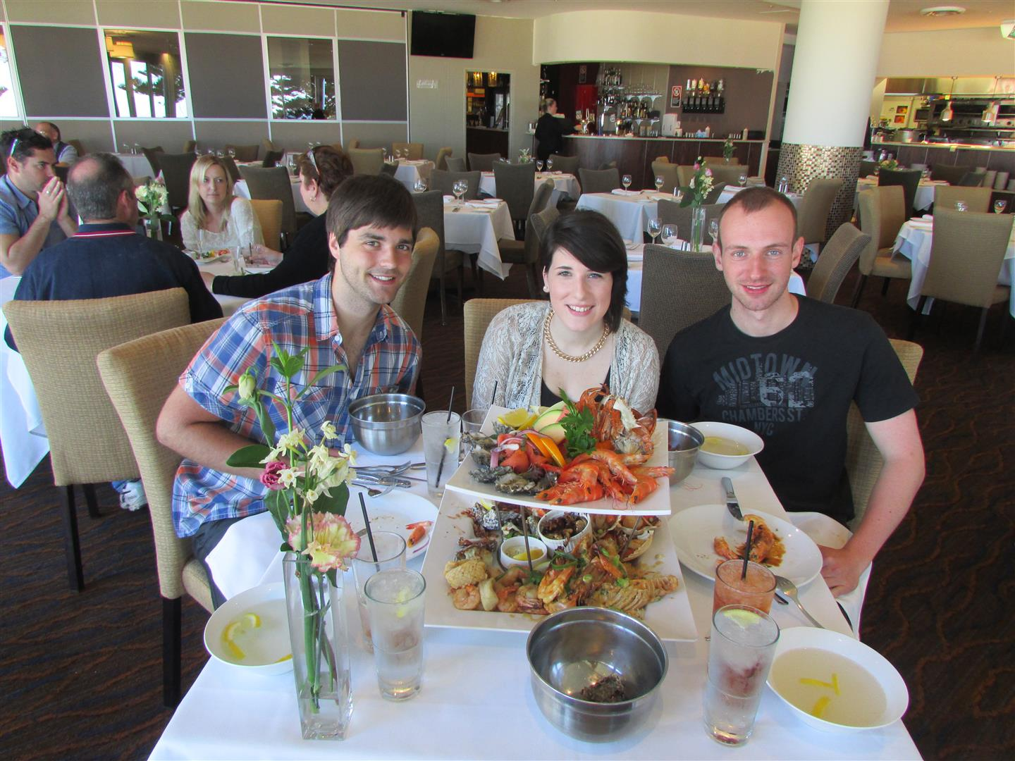 "Hot'n'Cold Platter for Two im ""Lagoon"" in Wollongong."