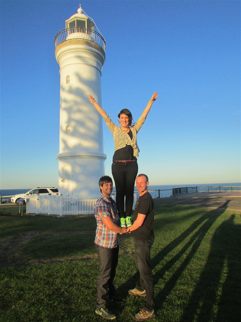 Und dann ein Aufsteiger am Leuchtturm.