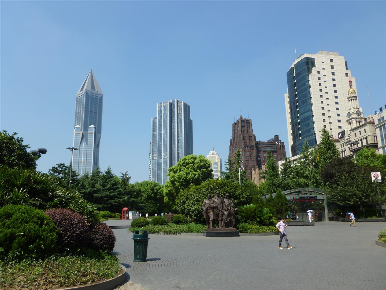 Erster Anblick der Stadt.