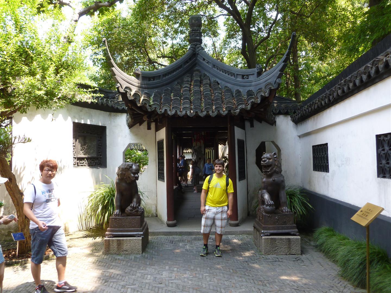 EIngang zum Chinesischen Garden.