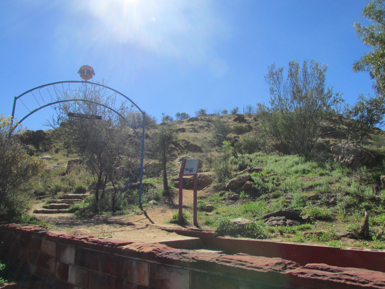 Der höchste Berg in Alice Springs...