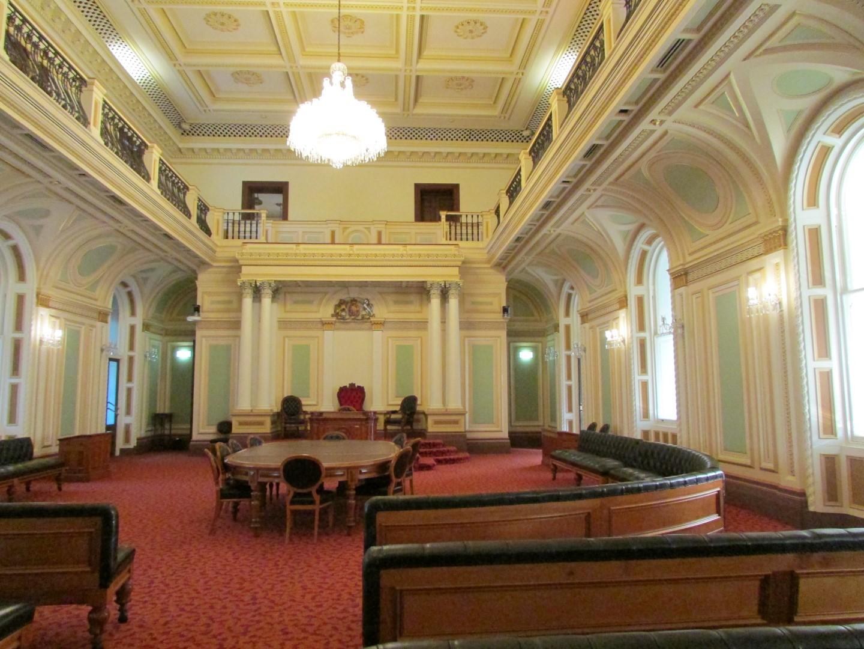 EHauptsaal des Parliament House.